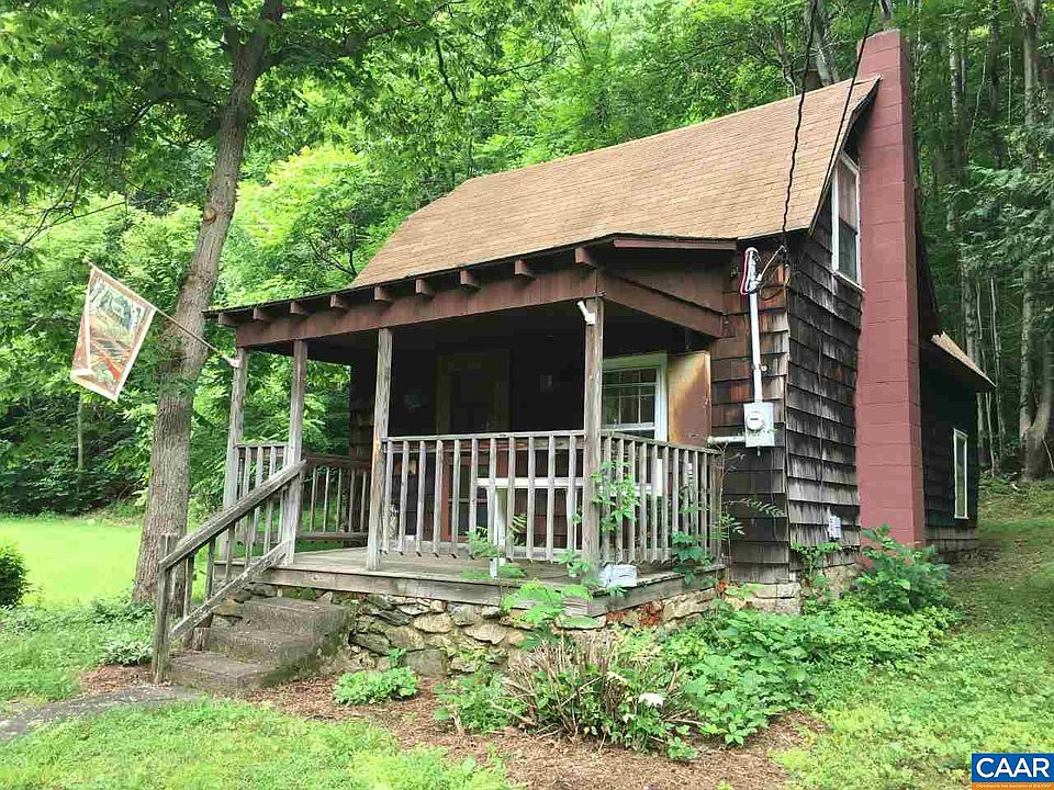 Mountain Cabin on 37 acres in VA! Riverfront and idyllic! $249,000